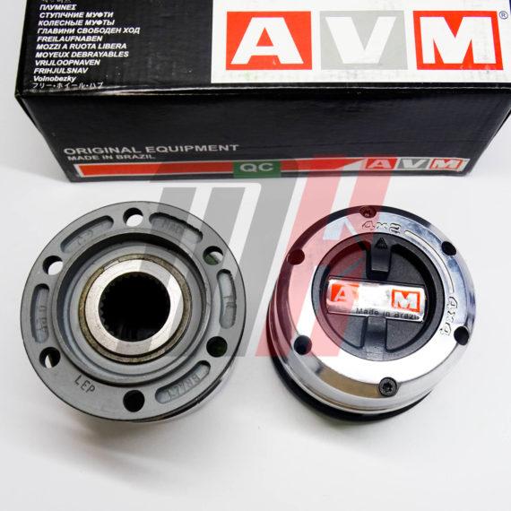 Комплект механических хабов AVM-429HP (Бразилия) Nissan Terrano, Navara, Mistral (27 шлицов)