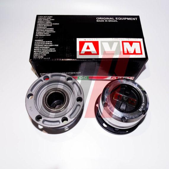 Комплект механических хабов AVM-461 (Бразилия) Nissan Terrano, Mistral, Datsun (28 шлицов)