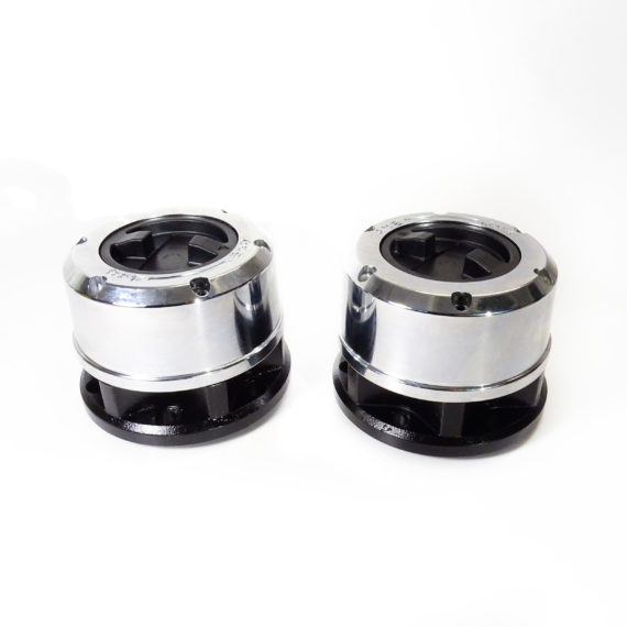 Комплект усиленных механических хабов (2 шт.) Hyundai Galloper, Mitsubishi Pajero, Delica, L200 (28 шлицов)